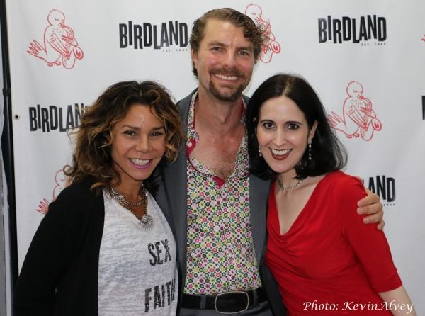 Daphne Rubin Vega, Lance Horne and Stephanie D''Abruzzo