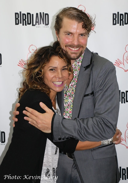 Daphne Rubin Vega and Lance Horne