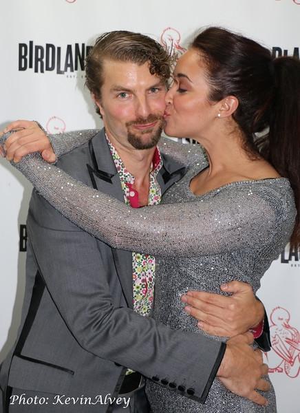 Lance Horne and Alexandra Silber