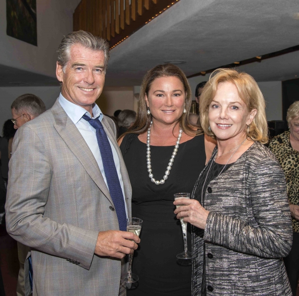 Pierce and Keely Brosnan with Linda Purl