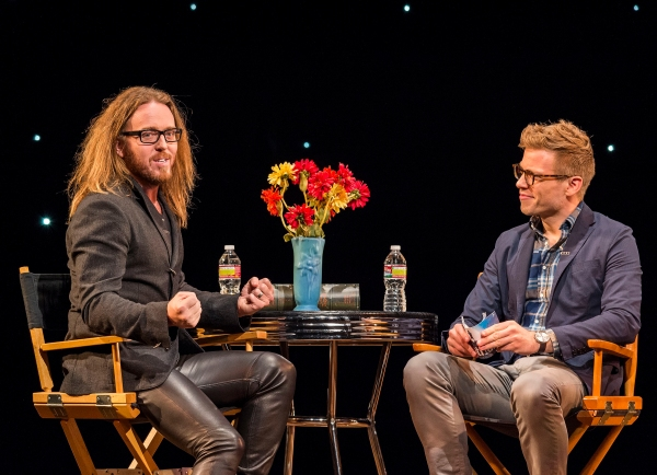 Tim Minchin and Barrett Foa