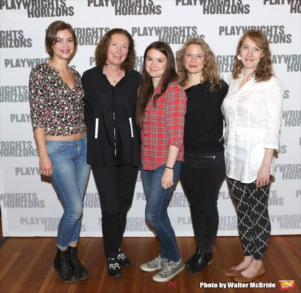 Elvy Yost, Brenda Wehle, Leah Karpel, Jessica Dickey, and Crystal Finn