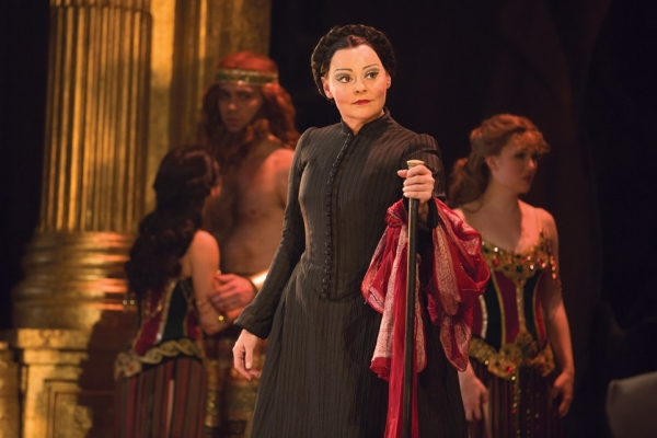 Linda Balgord as Madame Giry Photo