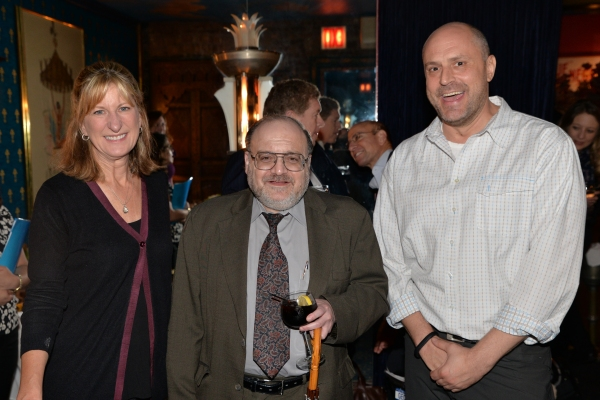 Jeanne Donovan Fisher, Robert Seigel and Tom Cole