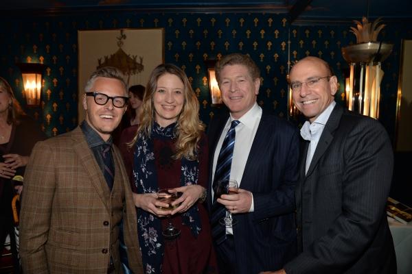 Christopher Hibma, Heidi Schreck, David Preiser and George Hornig  Photo