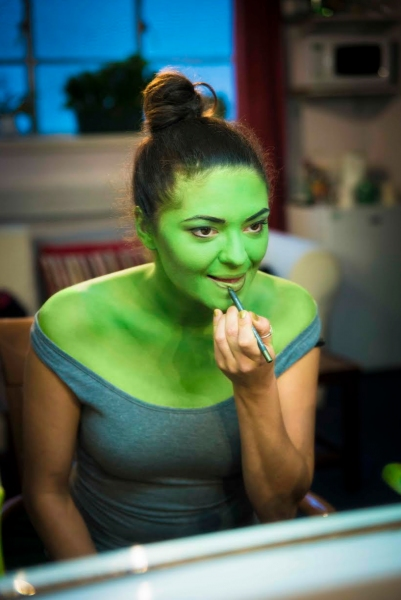 Photo Flash First Look Jennifer Dinoia Goes Green For
