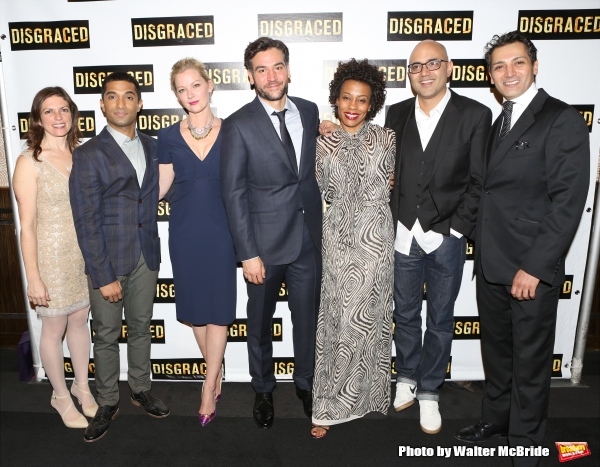 Director Kimberly Senior, Danny Ashok, Gretchen Mol, Josh Radnor, Karen Pittman, Playwright Ayad Akhtar and Hari Dhillon