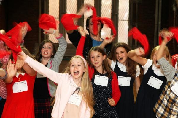Children from Hertfordshire audition for a stunning adaptation of E. Nesbit''s classic novel The Railway Children