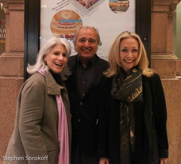 Jamie deRoy, Don Kelly, Eda Sorokoff, Carnegie Hall Photo