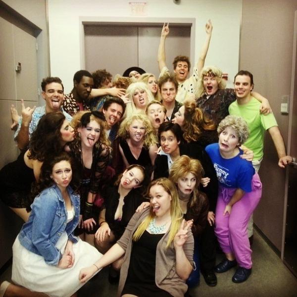 Cast Of Wedding Singer: Photo Flash: Saturday Intermission Pics, October 25