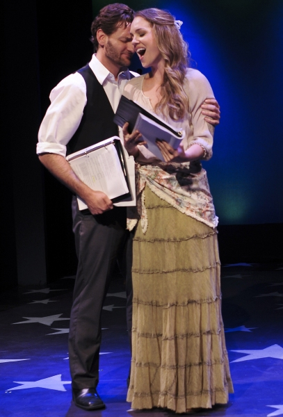 Glenn Seven Allen and Analisa Leaming