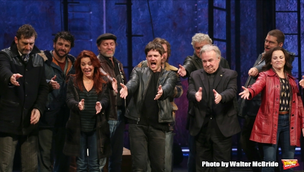 Jimmy Nail, Rachel Tucker, Michael Esper, Fred Applegate, Sally Ann Triplett  with cast