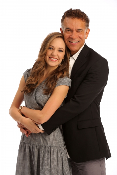 Laura Osnes, Brian Stokes Mitchell,