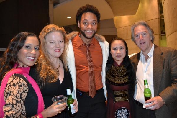 Lynette Rathnam, Sara Waisanen, Ricardo Frederick Evans, Tuyet Pham and John Lescault Photo