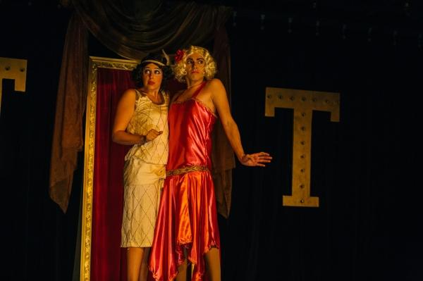 Maggie Mularz (as Renee Vain) and Zachary Hines (as Madeleine Astarte) Photo