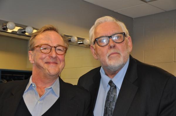 Edward Hibbert and Jim Brochu