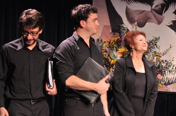 Roberto Cambeiro, Chris Richards and Cynthia Darlow