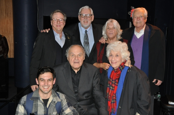 Edward Hibbert, Jim Brochu, Tyne Daly, Robert Osborne, Wesley Taylor, George S. Irving and Charlotte Rae