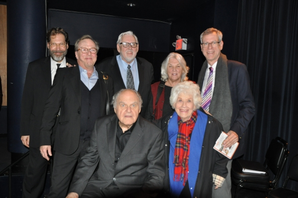 David Staller, Edward Hibbert, Jim Brochu, Tyne Daly, Steve Schalchlin, George S. Irving and Charlotte Rae