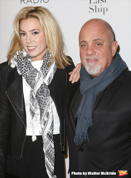 Alexia Roderick and Billy Joel