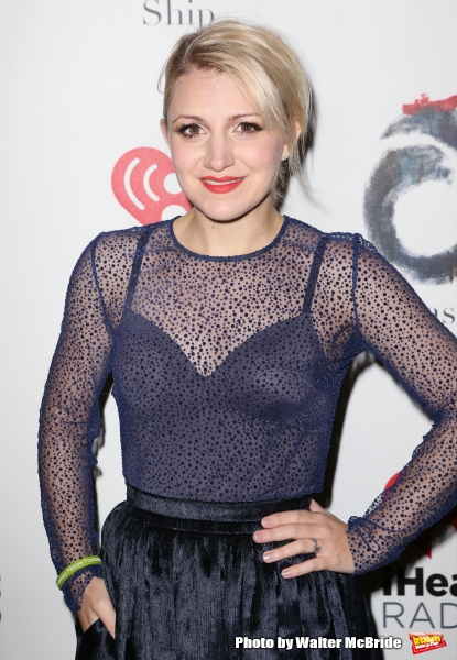 Annaleigh Ashford attends the Broadway Opening Night performance of ''The Last Ship'' at the Neil Simon Theatre on October 26, 2014 in New York City.