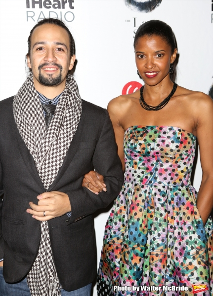 Lin-Manuel Miranda and Renee Elise Goldsberry