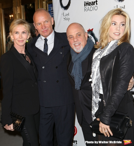 Trudie Styler, Sting, Billy Joel and Alexis Roderick