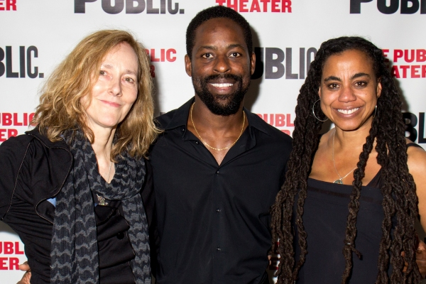 Jo Bonney, Sterling K. Brown, Suzan-Lori Parks