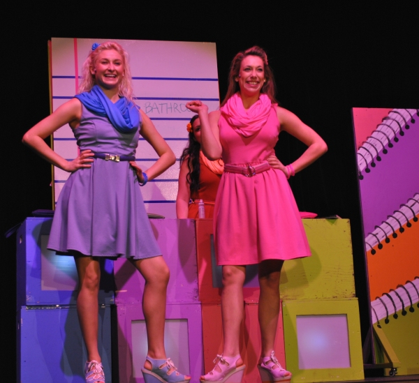 AUREN DeFILIPPO as Katty and KATIE MEBANE as Brittany