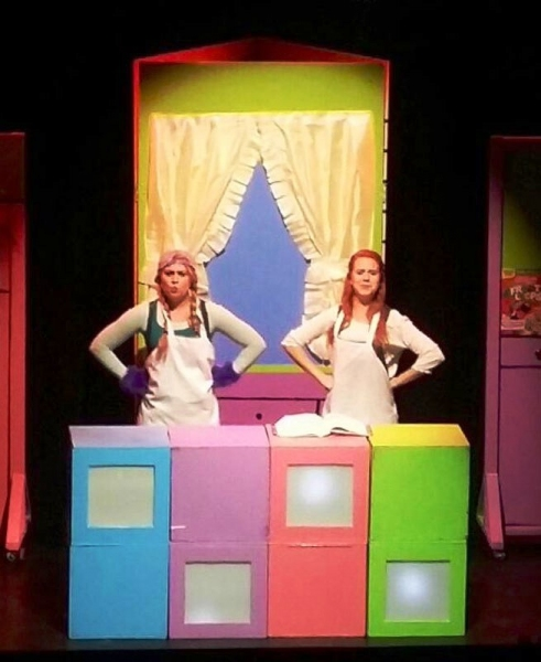 COURTNEY RADA as Airy and BETHANY McCALL as Jessie