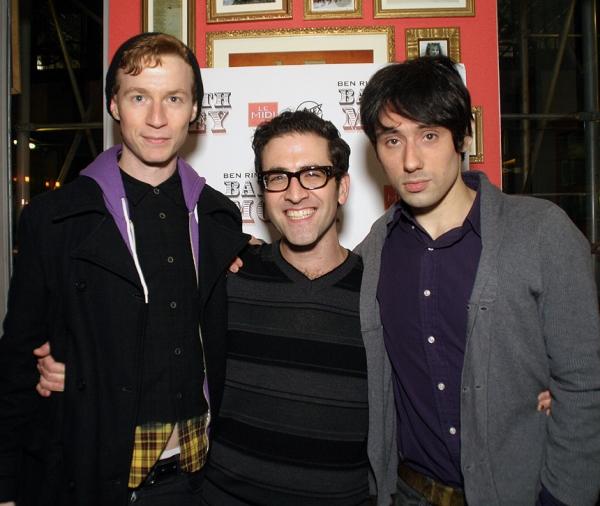 Max Steele, Ben Rimalower, Joseph Keckler