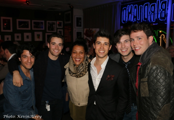 Abdiel Vivancos, Corey Cott, Lucia Roderique, Marrick Smith and Grey Henson