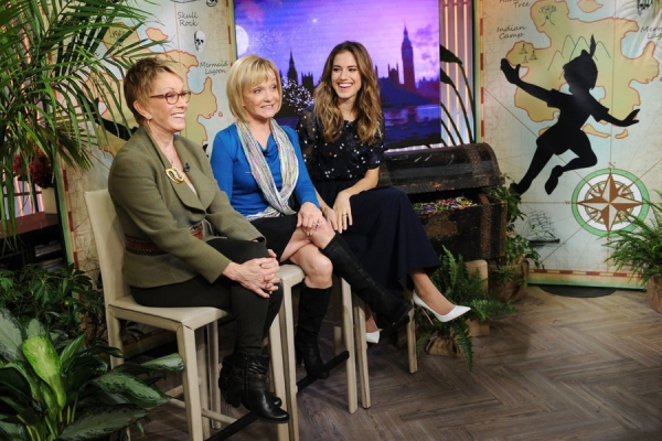 Sandy Duncan, Cathy Rigby, and Allison Williams