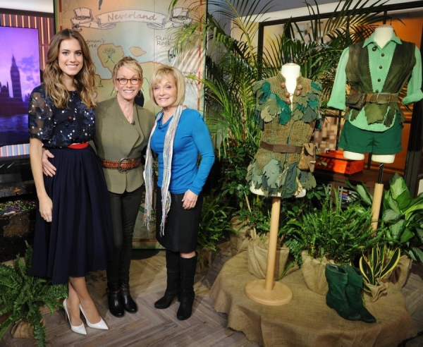 Allison Williams, Sandy Duncan, and Cathy Rigby
