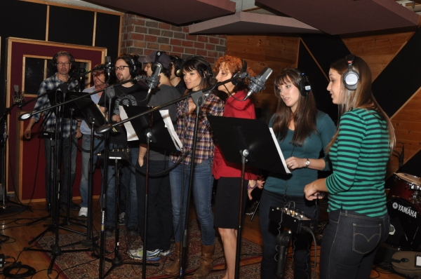 Exclusive Photo Coverage: ONCE Cast Comes A-Wassailing for Carols For A Cure!