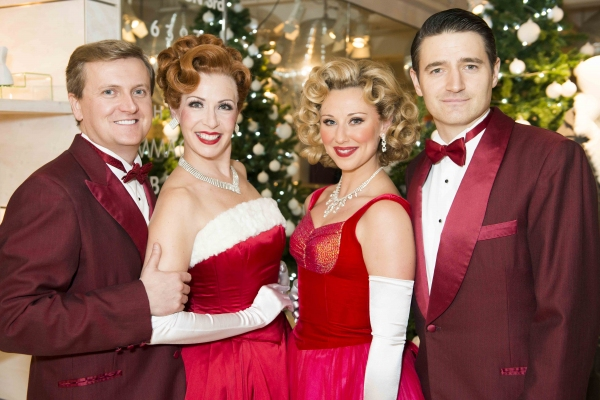 Aled Jones, Rachel Stanley, Louise Bowden and Tom Chambers
