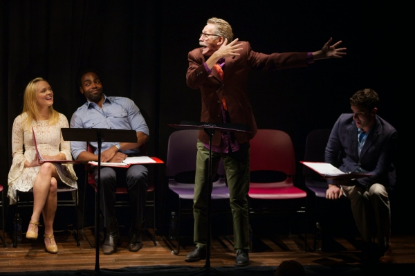 Photo Flash: Michael Cerveris, Matthew Rauch, Stephen Spinella and More in Red Bull's THE TEMPEST Benefit Reading