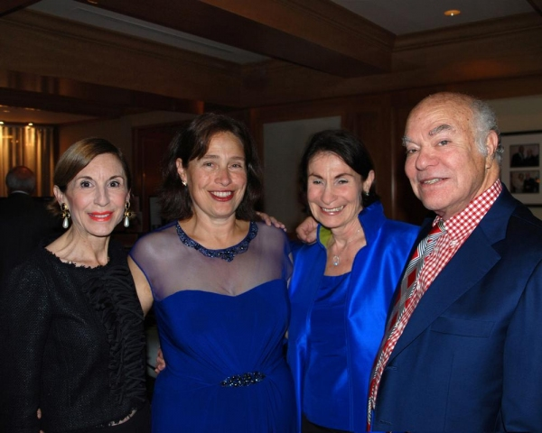 Marsha Monro, Bay Area Cabaret founder Marilyn Levinson, and Jean and Michael Strunsk Photo