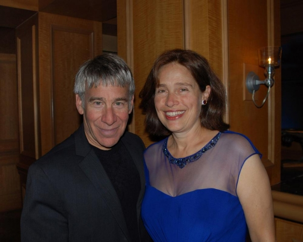 Stephen Schwartz and Bay Area Cabaret founder Marilyn Levinson Photo
