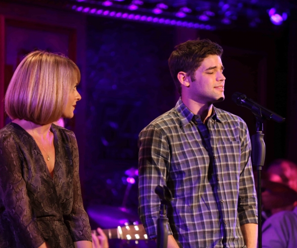 Ashley Spencer & Jeremy Jordan