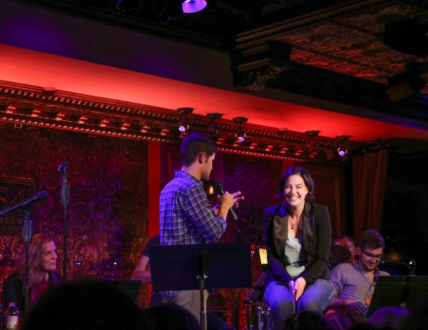 Jeremy Jordan & ''Bonnie'' audience member