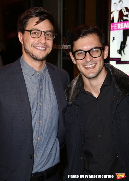 Gideon Glick and Wesley Taylor