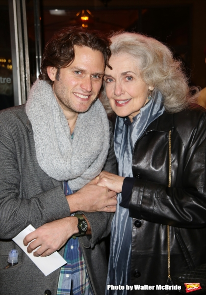 Steven Pasquale and Mary Beth Peil