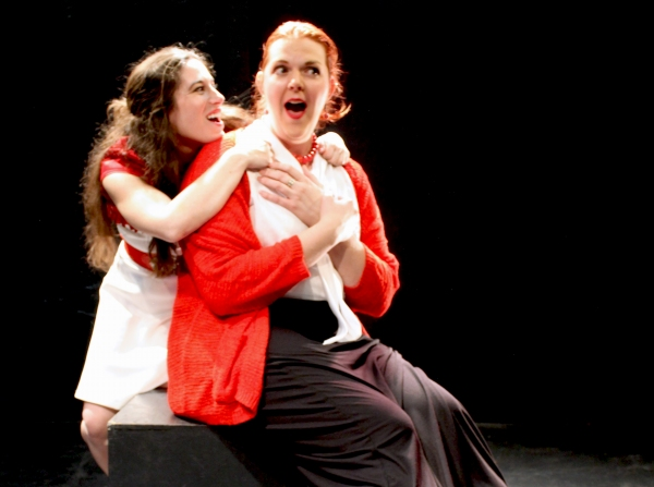 Christina Sheehan (Juliet), Clare Solly (Nurse) Photo