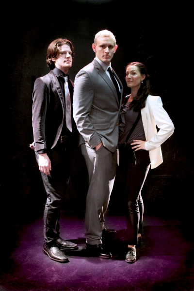 Royal Family: Theo McKenna (Paris), Michael Keeney (Prince Escalus), Nicole Schalmo (Mercutio)