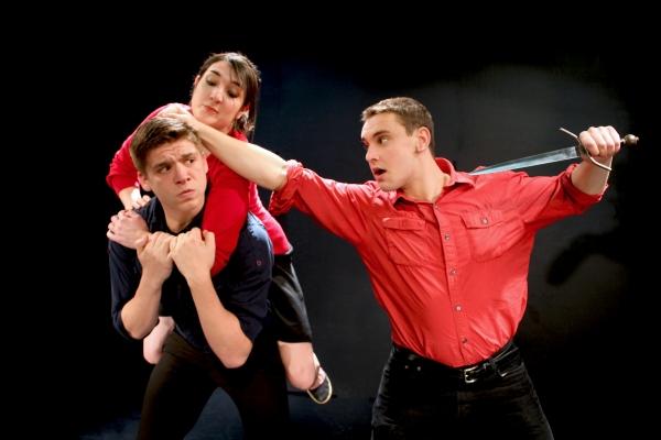 Matthew Wilson (Balthazar), Bryna Kearney (Angelica), Billy Berger-Bailey (Peter)