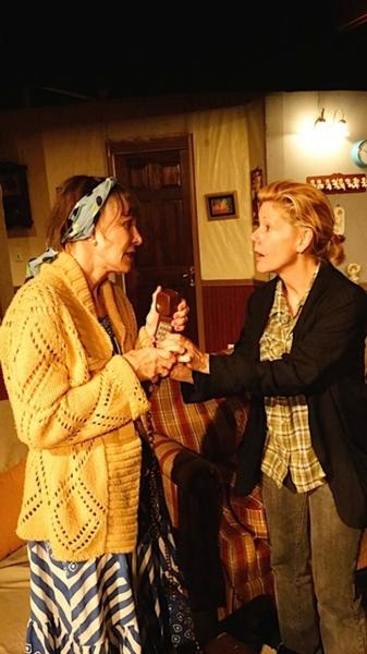 Lisa Richards and Sylvia Kelegian