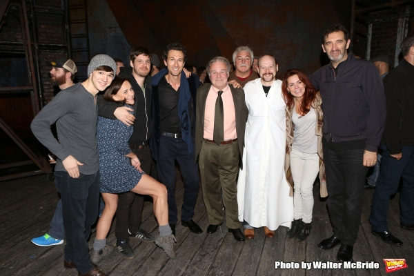 Collin Kelly-Sordelet, Sally Ann Triplett, Michael Esper, Aaron Lazar, Fred Applegate, Jeremy Davis, Rachel Tucker and Jimmy Nail