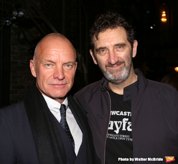 Sting and Jimmy Nail