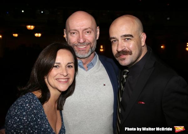 Sally Ann Triplett, Jamie Jackson and Eric Anderson